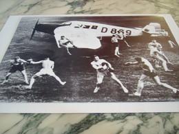 PHOTOGRAPHIE ENTRAINEMENT A LECOLE D AVIATION MUNICH 1920 - Autres