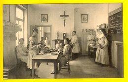 ECOLE MENAGERE BRUXELLES Institut Royal Des Sourdes-Muettes Et Aveugles CLASSE Avec BLACKBOARD Non Soeur Nun School 1562 - Ecoles