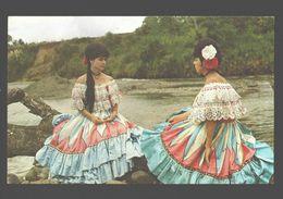 Rio Reventazon - Vestidos Tipicos - Visit Costa Rica - 1966 - Folklore / Costumes - Costa Rica