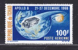 TCHAD AERIENS N°   55 ** MNH Neuf Sans Charnière, TB  (D5580) Cosmos, Apollo 8 - Chad (1960-...)