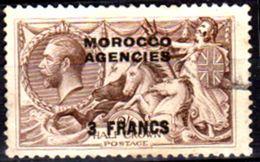 Marocco-(Uff.Brit.)-026 - Zona Franc.- Emissione Sovrastampata Del 1918: Y&T N.10 (+) LH - Senza Difetti Occulti. - Morocco Agencies / Tangier (...-1958)