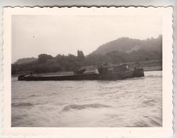 Péniche - Aak - Photo Format 9 X 11.5 Cm - Boats