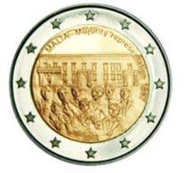 2 € Commémorative Malte 2012 Majorité- UNC - Malte