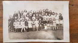 Carte Photo De Classe Ecole De Filles - Ecole CHAMPLAIN - 6e Moderne - Année 1942, Le 23 Mars - Rochefort