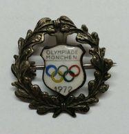 OLYMPIC / OLYMPIAD - Vintage Pin, Značka, Munchen, 1972 - Olympische Spelen