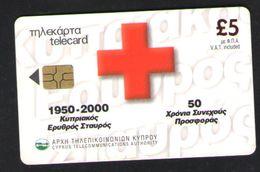 ТЕЛЕФОННАЯ КАРТА КИПР 5 ФУНТОВ - Telefoonkaarten