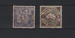 AUSTRALIE  1850-1920 - 2 SERIES MET GOM + 4 LOSSE ZEGELS - Nuovi