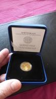 ESTLAND Estonia 1998 Gold Coin Goldmünze Windmühle 90. Jahrstag Der Republik - Estland