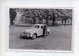 REF PHOR : Photo Originale   10 X 7 Automobile Borgward Libellée Strasbourg 1951 - Automobiles