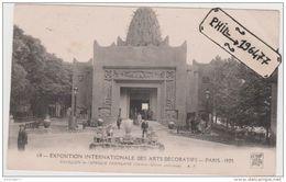 75 Paris - Cpa / Exposition Des Arts Décoratifs - 1925. - Pavillon De L'Afrique Française. Non Circulé. - Mostre