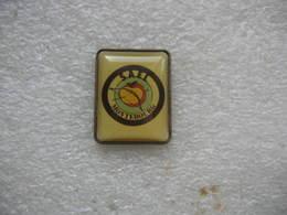 Pin's  Du Club De Tir à L'arc De La SAEL De Montebourg (Dept 50 Manche). Tir à L'arc Sur Une Pomme De Couleur Jaune - Archery