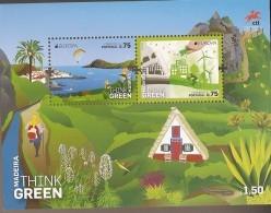 Portugal ** & CEPT Europa, Madeira , Think Green 2016 (3) - Blocks & Sheetlets