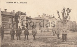 Poland - WW1 - Jablonna - Baracken Des II Bataillons - Personajes