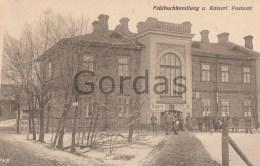 Poland - WW1 - Jablonna - Postamt - Personajes