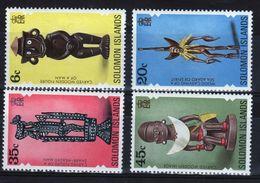 British Solomon Islands 1977 Artifacts 2nd Series Unmounted Mint Set Of Stamps. - British Solomon Islands (...-1978)