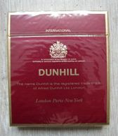 AC - DUNHILL HARD PACK CIGARETTES UNOPENED BOX FOR COLLECTION - Other