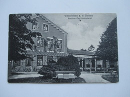 AK 1914 Nordschleswig Viktoriabad A.d. Ostsee. Besitzer Carl Schlotfeldt. Verlag L.Johannsen. Nach Riga / Russland - Hotels & Gaststätten