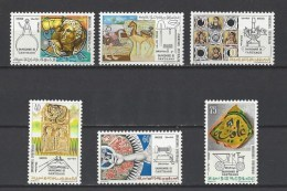 TUNISIE . YT  743/748  Neuf **  Sauvegarde De Carthage  1973 - Tunisie (1956-...)