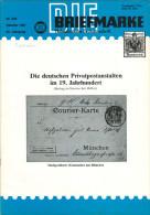 """Magazin """"Die Briefmarke"""" Nr. 266 10/1981 Deutsche Privatpost Lokalausgabe Scheibbs Philatelie Zeitschrift Österreich - Deutsch (ab 1941)"""