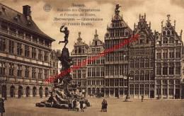 Gildenhuizen En Fontein Brabo - Antwerpen - Antwerpen