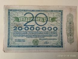 Duisburg  20 Milioni Mark 1923 - [11] Emissioni Locali