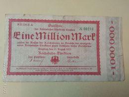Dresden 1 Milione Mark 1923 - [11] Emissioni Locali