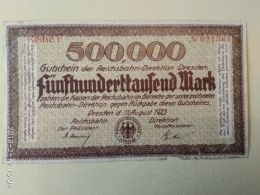 Dresden 500000 Mark 1923 - [11] Emissioni Locali
