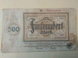 Dortmund 500 Mark 1922 - [11] Emissioni Locali