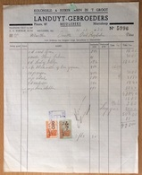 Marialoop Meulebeke - Landuyt Gebroeders - 1940 - Koloniale & Suikerwater Sucre Oostrozebeke - Belgium