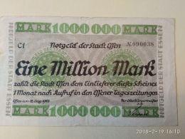 Essen 1 Milione Mark 1923 - [11] Emissioni Locali