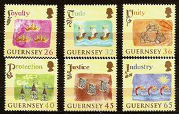 GUERNSEY 2004 - CELEBRATION 800th. Anniv Guernsey 1204-2004 - 6v 1012A-1017A MNH ** Cv€9,00 D663 - Guernsey