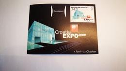 "Bloc ""croatia Expo 2000"" - 2000 – Hanovre (Allemagne)"