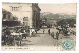 LYON  LA GARE DE PERRACHE - Lyon