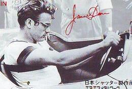 PHONECARD Japan Cinéma * JAMES DEAN (71) Télécarte JAPON MOVIE *  * TELEFONKARTE * FILM * CINEMA * LEVI'S * MOVIE - Cinema