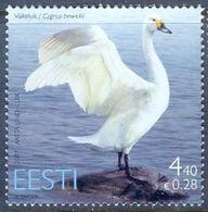 A193- Estonia Estonie Eesti 2007. Bird Of The Year. Swan. - Birds