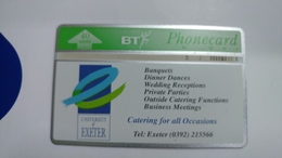 United Kingdom-(bta058)-exeter University-(40units)-(327c)-price Cataloge10.00£-card+1card Prepiad Free - BT Advertising Issues