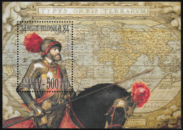 Belgium SG MS3565 2000 500th Birth Anniversary Of Charles V Miniature Sheet Unmounted Mint [36/30406/6D] - Blocks & Sheetlets 1962-....