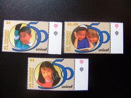 ST. VINCENT The GRENADINES 1996 CINCUENTENARIO De UNICEF Yvert  2824 / 2826 ** MNH - St.Vincent Y Las Granadinas