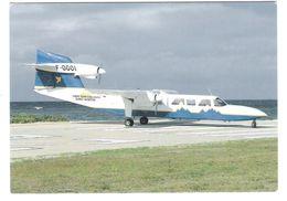 Air Saint Barthelemy Saint Martin - Pilatus BN-2A Mk III-2 Trislander - Avion - Flugzeug - Plane - Airplane - 1946-....: Moderne