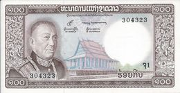 Laos  100 Kip   Nd(1974)   P16   Spl - Laos