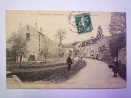 MERY  (Seine-et-Marne)  :  Route De Courcelles   1910    - Other Municipalities