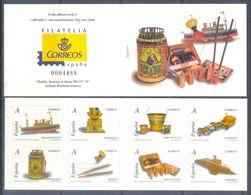 A210- Spain 2008. Child Toys. Juguetes Booklet. - Spain