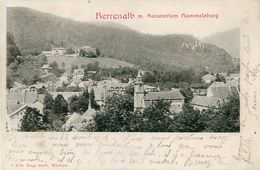 Cpa Précurseur - HERRENALB M. Sanatorium Hummelsburg - Bad Herrenalb