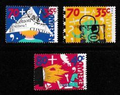Nederland 1993 Kinder Zegels Gebruikt 1575-1577 # 1305 - Period 1980-... (Beatrix)