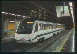 REPRO. España. Metro De Madrid. *Unidad M-9036. Línea 8 Al Aeropuerto De Madrid-Barajas 2001-2002* - Metro