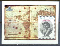 A213- Spain 2006. 500th Death Anniversary Of Christopher Columbus Miniature Sheet - Spain
