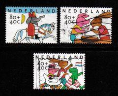 Nederland 1998 Kinder Zegels Gebruikt 1784-1786 # 1340 - Period 1980-... (Beatrix)