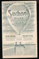 SUCHARD - MENU 14 X 9 CM 1908 SERIE 18  - 2 SCANS - Suchard
