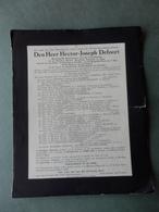 Defoort - ° Kuurne 1878 - + Ieper 1940 - Desimpel - Décès