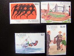 ST. VINCENT The GRENADINES 1996 Jeux Olympiques D' étè à Atlanta Yvert  2871 / 2874 ** MNH - St.Vincent Y Las Granadinas